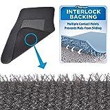 BDK Interlock Car Floor Mats - Secure No-Slip Technology for Automotive Interiors