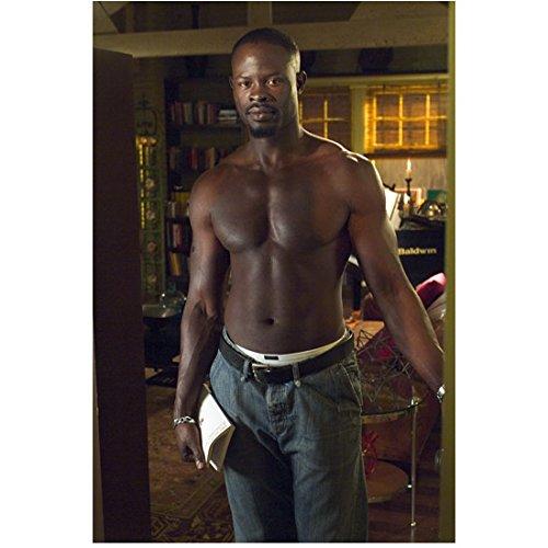 Beauty Shop Djimon Hounsou as Joe in doorway 8 x 10 Inch Photo