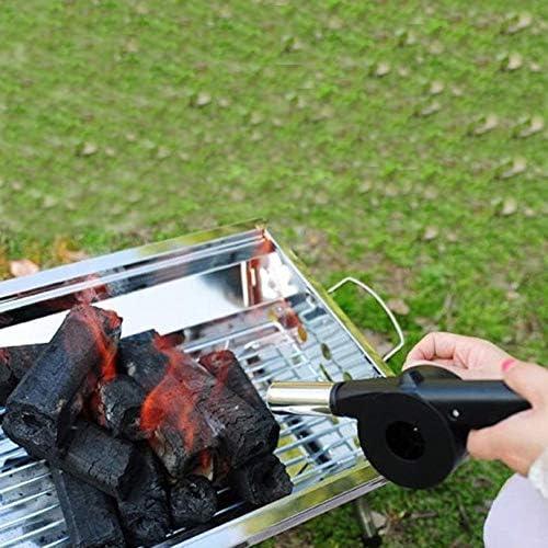 Cuisine en Plein Air Barbecue Manuel Ventilateur Souffleur pour Barbecue Feu Soufflets Mini Portable Manivelle Outil pour Camping De Pique-Nique