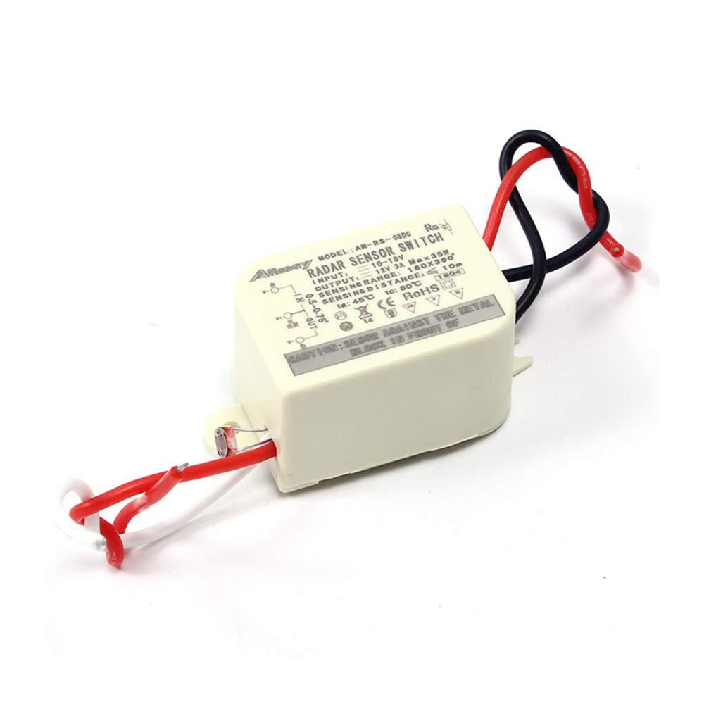 DC 12V Radar Interruptor de inducción de microondas LED AD ...