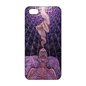Freedom Alex Grey 3D Phone Case for iphone 4 4s