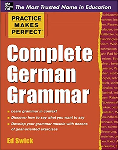 Grammar book pdf german