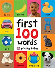 Your little one will soon learn some essential first words and pictures with this bright board book. There are 100 color photographs to look at and talk about, and 100 simple first words to read and learn, too. The pages are made from ...
