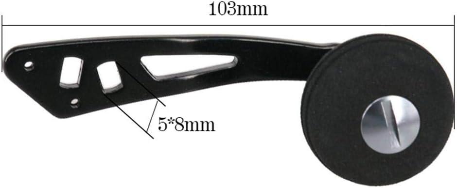 manico per mulinello da pesca in lega di alluminio manico a leva. Nrkin