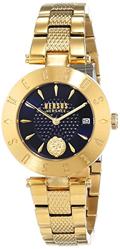 Versus by Versace Women's Analogue Quartz Watch with Stainless Steel Strap VSP772718