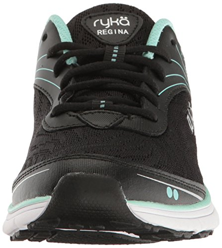 Regina Walking Womens Black Mint Ryka Shoe 5xEwqxT