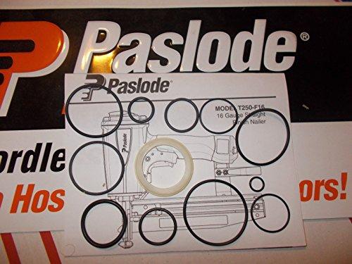 Paslode Finish Nailer # 500970 T250-F16 O-Ring Kit + Cylinder Seal 402725 (Paslode O-ring)