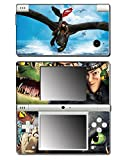 How to Train Your Dragon 2 Hiccup Toothless Astrid Video Game Vinyl Decal Skin Sticker Cover for Nintendo DSi System