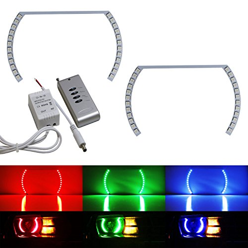led halo rings for camaro - 8