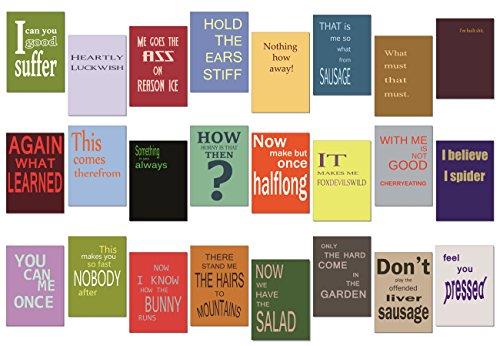 Postkarten Set / Karten Set - 24 Stück - Nr 1 -
