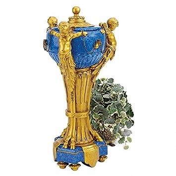 Design Toscano The Carlisle Cherubs Centerpiece Urn Amazon In Home Kitchen