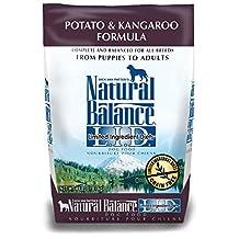 Natural Balance 42030 Potato & Kangaroo Formula Dry Dog Food (4LB(6))