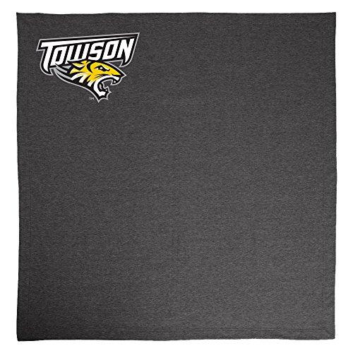 Campus Merchandise NCAA Towson Tigers Adult Sweatshirt Blanket,50