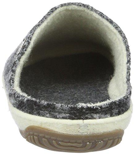 Living Kitzbühel Unisex Adults' Pantoffel Karo Mit Weißem Filzrand Low-Top Slippers Black - Schwarz (Anthra 600) discount manchester great sale clearance marketable sale online 0wMZYkdEj0