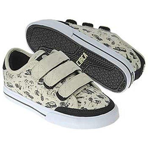 Circa Skateboard Schuhe ALW50V Black/Cream Lowrider - C1rca Shoes - Sneaker