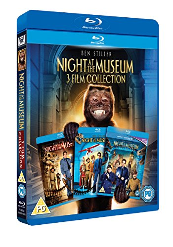 Night at the Museum 1-3 Triple Pack [Blu-ray]