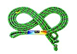 Just Jump It 16' Foot Single Jump Rope - Active Outdoor Youth Fitness - Double Dutch Length - Green Confetti