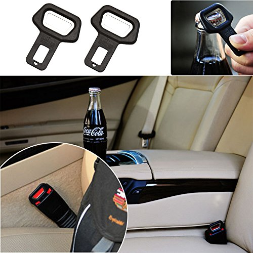 cikishield-car-safety-belt-clip-car-seat-belt-buckle-vehicle-mounted-bottle-openers-2pack