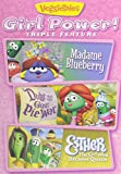 download ebook veggie tales: girl power - triple feature: madame blueberry; duke and the great pie war; esther, the girl who became queen pdf epub