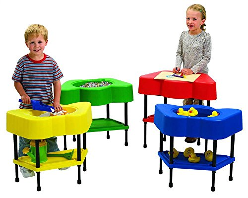 Angeles Sensory Table Multi Pack Set of 4 Colorful Tables for Kids (24 x 13 x 18 in)
