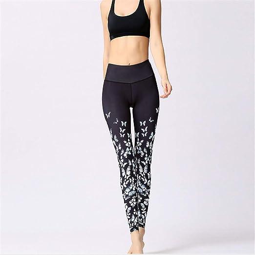 GJR Mallas Deportivas Mujer Yoga Leggings de Entrenamiento ...