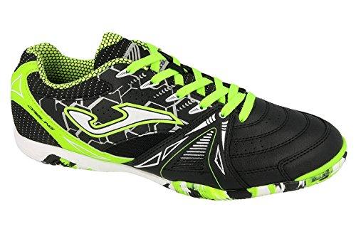 Joma Dribling, Zapatos de Futsal Unisex Adulto Negro (Black-fluor)