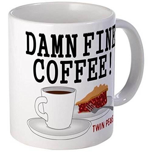Damn Fine Cup of Coffee Mug 11oz Ceramic Twin Peaks Coffee Mug by Cotton Cult