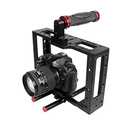 Foto&Tech - Soporte para cámara réflex Digital con Mango Superior ...