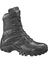 Bates Mens Delta-8 Mens Black Side Zip Tactical Boots E02348