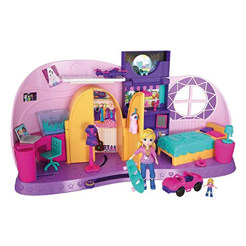 Polly Pocket - Polly Pocket! Quarto Da Polly Pocket, Mattel, FRY98, Multicor