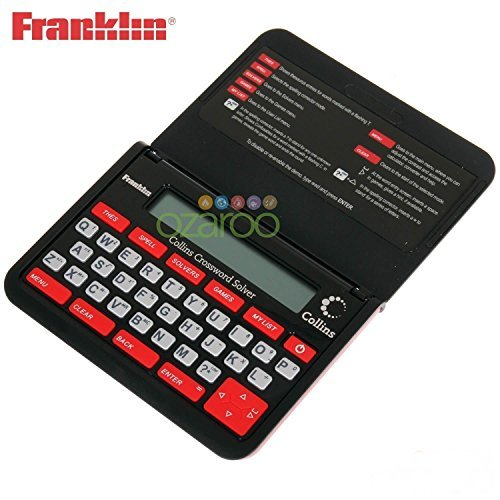 Price comparison product image Franklin Collins English Thesaurus Dictionary Crossword Solver Helper Black - CWM109