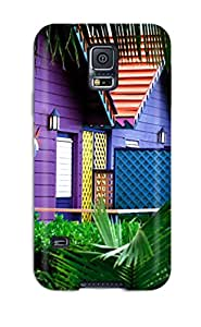 Alan T. Nohara's Shop Hot 1109172K20908841 Hot Style Protective Case Cover For Galaxys5(house)