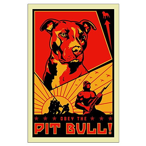 CafePress - Obey The Pit Bull! - 23