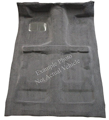 Factory Fit - ACC 1983-1994 Chevy S10 Blazer Carpet Replacement - Cutpile - Passenger Area | Fits: 2DR