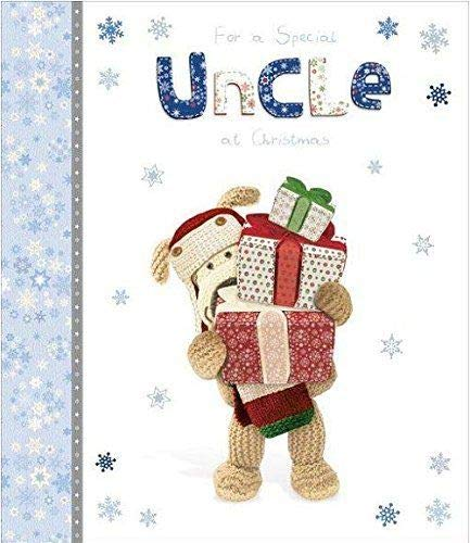 Boofle For A Special Uncle Christmas Card (Christmas Boofle)
