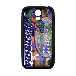 Generic Custom Unique Design NCAA University of Florida Gators Team Logo Plastic and TPU Case Cover for SamSungGalaxyS4 I9500 (Laser Technology)