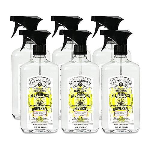 (J.R. Watkins All Purpose Cleaner, 24 fl oz, Aloe & Green Tea (6 pack))