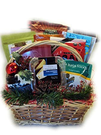 Amazon.com : Gluten Free Christmas Gift Basket by Well Baskets ...