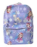 Disney Frozen Lavender Allover Print 16″ Girls Large Backpack Review