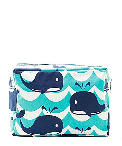 N. Gil Large Travel Cosmetic Pouch Bag (Splash ()