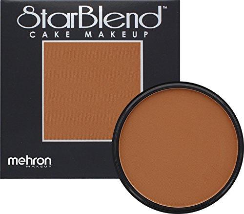 - Mehron Makeup StarBlend Cake (2oz) (LIGHT COCOA)
