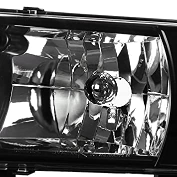 Amazon Com Dodge Ram 150025003500 Black Led Head Lights Altezza