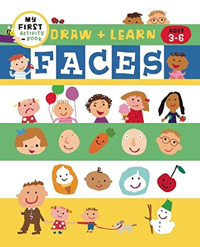 Draw + Learn: Faces (My First Activity Books) ebook