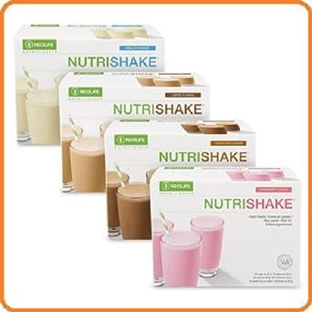 neolife nutrishake fresa (Suplemento Nutricional En Polvo 20 sobres de proteínas, minerales, vitaminas