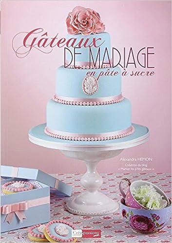Amazonfr Gâteaux De Mariage En Pâte à Sucre Alexandra