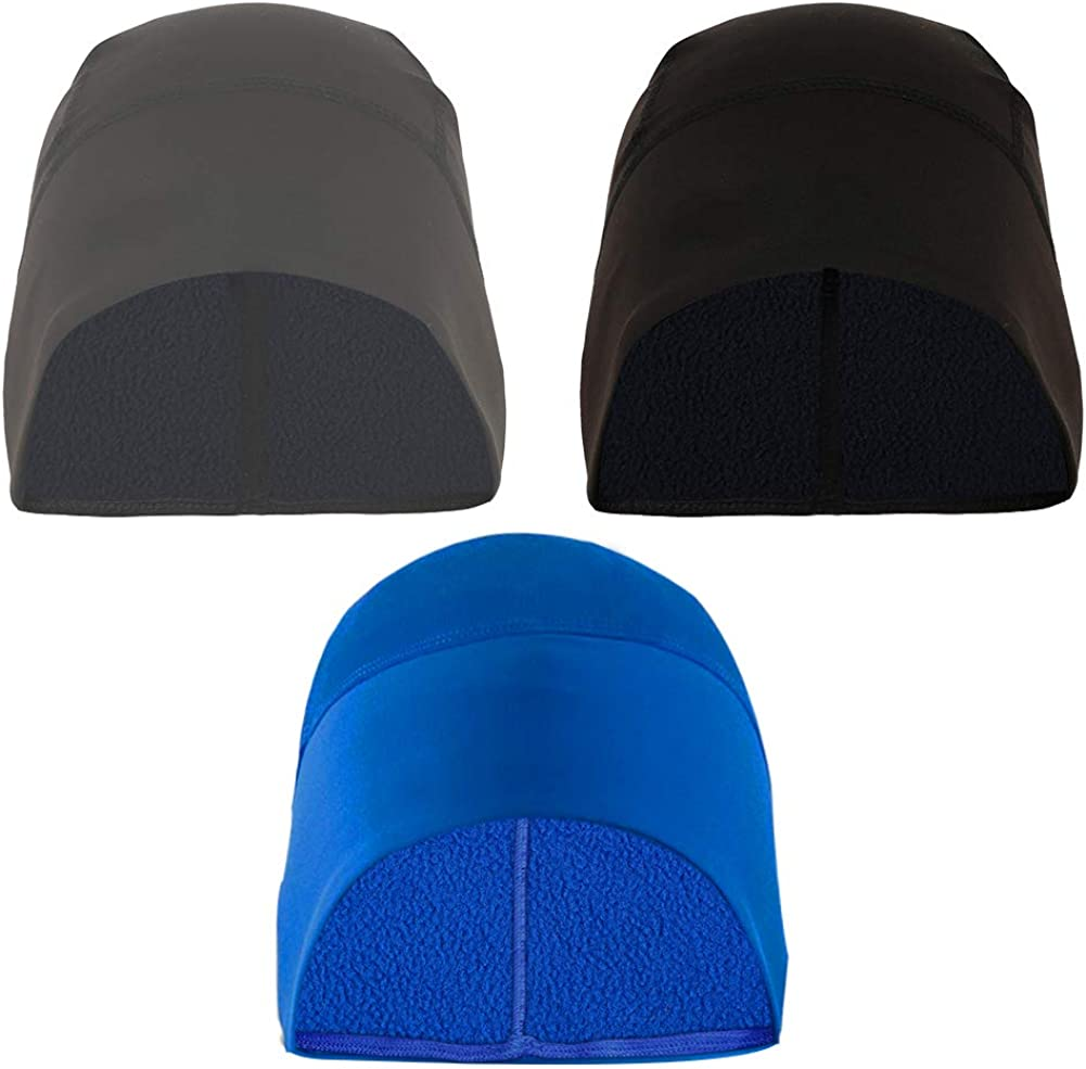 Cycling Beanie Running Helmet Liner Cap Thermal Fleece Winter Bike Hat Windproof