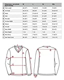 Men's Summer T-shirt 100% Cotton Thai Hippie Shirt V-neck Beach Yoga Top (X-large, Black)