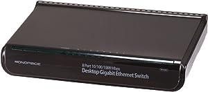 Monoprice 8-Port 10/100/1000 Mbps Desktop Gigabit Ethernet Switch (107857)