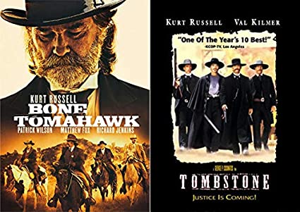 Amazon Com The Wild Wild West With Kurt Russell Double Dvd Pack Bone Tomahawk Tombstone Movies Tv