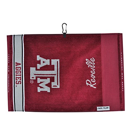 Texas A&m Aggies Woven Jacquard - Team Effort Texas A&M Aggies Face/Club Jacquard Towel